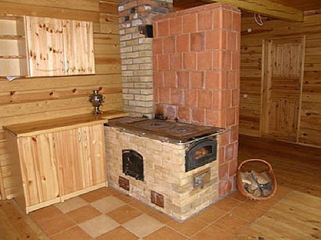 Печь для дачного домика своими руками