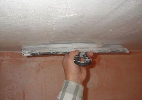 Шпаклевка гипсокартона своими руками на потолке