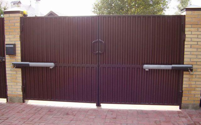 подьемные ворота в курске